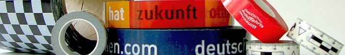 Klebeband mit Logodruck