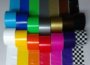 Bunters Absperrband, farbiges Dekoband